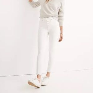 NWT Madewell Button-Fly High Rise Skinny Jeans